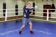 21 вересня 2013 року -  бокс. Вболіваймо за В'ячеслава Узєлкова