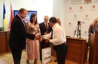 Сьогодні у міській раді привітали кращих спортсменів Вінниці