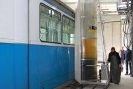 У ТТУ запрацював мийний комплекс для трамваїв