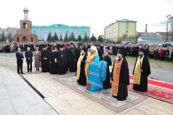 На території аграрного університету збудували церкву