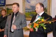 Заслужений художник України Володимир Козюк презентував вінничанам експозицію обраних картин