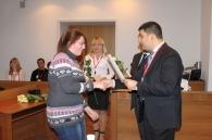 У міській раді привітали молодь із Днем студента