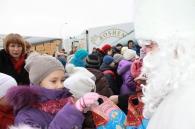 Святий Миколай вже привіз до Вінниці понад 40 тисяч солодких подарунків для дітвори