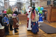 Sky Park открыл городскую Рождественскую ярмарку в сквере Козицкого
