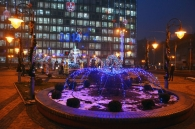 На Майдані Незалежності увімкнули новорічний настрій
