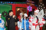 У Вінниці на Майдані Незалежності відкрилася Резиденція Діда Мороза