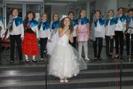 Кращі творчі колективи та учні Вінницької дитячої школи мистецтв дали концерт у холі міської ради