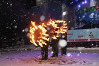 Фоторепортаж закриття Головної ялинки Вінниці