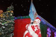 Вінницький Дід Мороз після вкрай напруженого місяця роботи «пішов у відпустку»