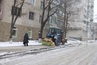 Снігопади у Вінниці триватимуть весь тиждень