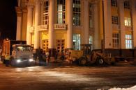 Територію біля Вінницької ОДА розчистили від барикад