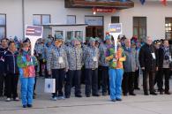 А тим часом у Сочі підняли прапор України