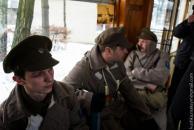 Вінницею курсував революційний трамвайчик
