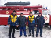 Працівники служби «101» врятували рибалку, який провалився під лід