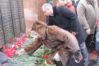 Мітинг-реквієм з нагоди 25 річниці виведення радянських військ з Афганістану