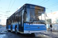 У Вінниці презентували перший із 40-ка очікуваних нових тролейбусів «Богдан»