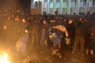 Щойно у Вінниці захопили офіс Партії Регіонів