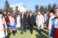 На відкритті пам'ятника Тарасу Шевченку у Вінниці всіх закликали до єднання