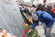 На Вишеньці до 70-річчя визволення Вінниці від фашистських загарбників пройшов мітинг-реквієм
