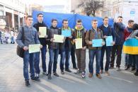 Сьогодні більше сотні вінничан створили «живу» єдину і неподільну Україну