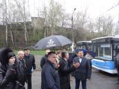 До Вінниці прибула перша партія нових тролейбусів