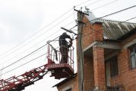 На шести вулицях мікрорайону Тяжилів встановлюють  енергозберігаючі світлодіодні світильники