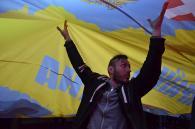 Більше 50 тисяч українців заспівали національний гімн на відкритті сезону фонтану «Рошен»