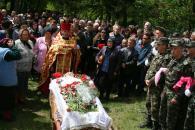 Убитого терористами десантника Петра Коваленка із почестями поховали у рідній Рахнівці