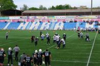 «Вінницькі Вовки» перемогою почали чемпіонат України з американського футболу