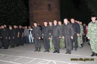 «Ягуар» під звуки оркестру уночі повернувся зі Слов'янська в Калинівку