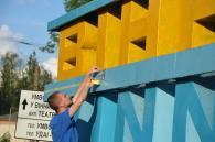 «Вінниця» стала жовто-блакитною – прапор перевернули
