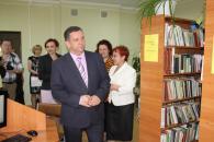 На свій сторічний ювілей найстарша бібліотека Вінниці отримала телевізор та wi-fi зону