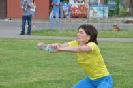 Бухгалтер Настя присіла 1635 разів і стала чемпіонкою Вінниці