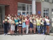 30 старшокласників Вінниці навчалися, як розв'язувати конфлікти серед однолітків мирним шляхом