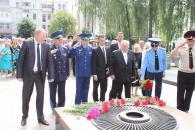 Покладання з нагоди Дня Скорботи і вшанування пам'яті жертв війни в Україні