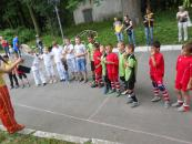 У п'ятницю 20 червня біля ККЗ «Райдуга» відбулося свято футболу та запальних бразильських танців
