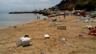 Пляжі Чорноморки та Іллічівська накрила велика хвиля: шестеро людей постраждало. Оновлено - відео