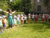 Липень в дитячому садочку – це весело та цікаво