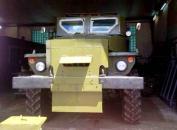 На озброєння сил АТО поступили броньовані Урали