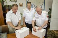 Обладнання для лікування поранених в АТО вінницькому військовому шпиталю передала Муніципальна поліція