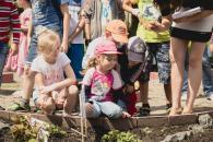 У Європейському саду для дітей провели майстер-класи з повчальними іграми