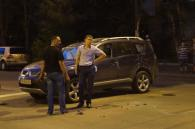 У ДТП на перетині Фрунзе і 50-річчя Перемоги одне авто перекинулось (доповнено)