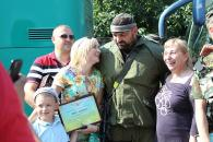 Вінницькі міліціонери повернулись із зони АТО до своїх родин