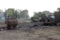 Росія «Градами» знищила українське село Степанівка (Фото)