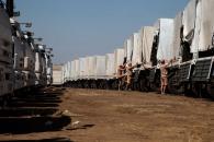 """Росія пояснила чому деякі """"Камази"""" з """"гуманітарною допомогою"""" напівпорожні"""