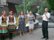 Вінничани відкрили для себе Польщу на Галявині творчості