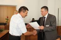 У міській раді привітали кращих працівників міських підприємств, установ та організацій з нагоди Дня Незалежності України