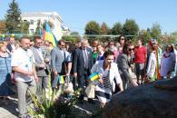 Площу Тараса Шевченка відкрито після реконструкції