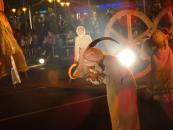 """На Майдані Незалежності вінничани дивились виставу """"Сни за Кобзарем"""" у виконанні львівського театру"""