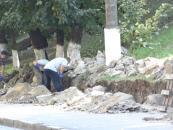 На Козицького відремонтують ще дві підпірні стінки